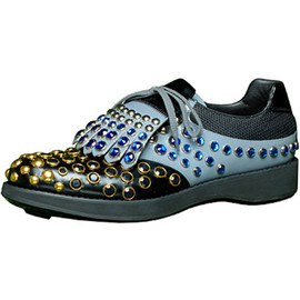 PRADA - bijoux shoes inspired by golf shoes for 2012 S/S