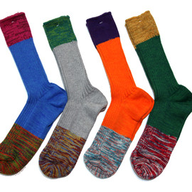 VESTIBULE - Color Block Socks