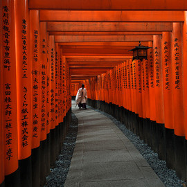 sadaiche (Peter Franc) - Japan - the red gates of Fushimi-inari