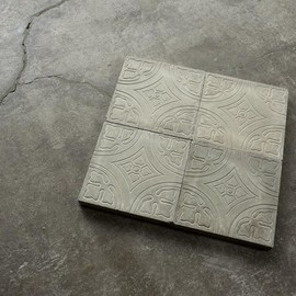 old maison - Flooring tile (terrazo..)