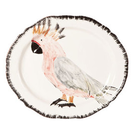 ZARA HOME - Cockatoo Oval Serving Dish