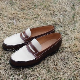 J.M. Weston - Signature Loafer 180 Tan×Chocolate×Ivory