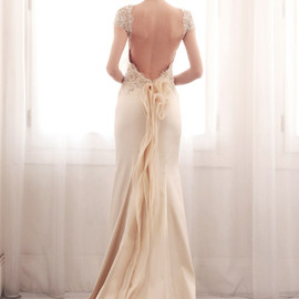 gemy maalouf - color wedding dress