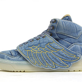 adidas - JS ADIWINGS DENIM 「adidas Originals by JEREMY SCOTT」 「LIMITED EDITION for DESIGN COLLABORATIONS