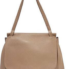 The Row - Sidekick textured-leather shoulder bag