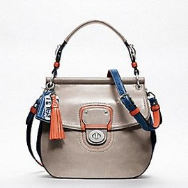 COACH - LEATHER COLORBLOCK NEW WILLIS