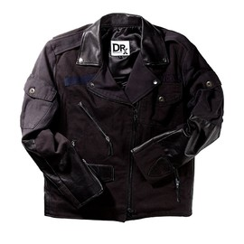 Dr. Romanelli - Patched Biker Jacket