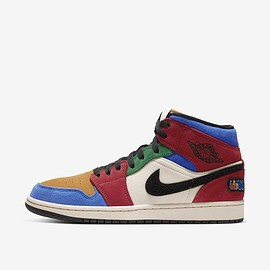 NIKE - Air Jordan 1 Mid Fearless Blue the Great