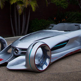 Mercedes - Mercedes Silver Arrow, Concept Car (for Arrow)