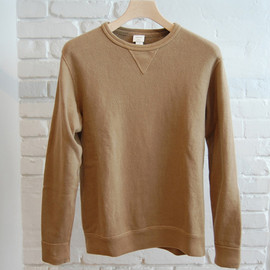 YAECA SUNDAY - COFFEE DYED PULL OVER SWEAT