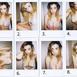 danielle sharp - Polaroid Selfies