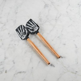 Williams-Sonoma - Skeleton Hands Mini Silicone Spatulas, Set of 2