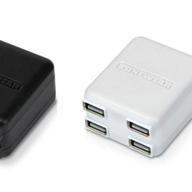 TUNEWEAR - TUNEMAX 4USB CHARGER