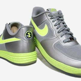 Nike - NIKE LUNAR FORCE 1 FUSE GRANITE/VOLT
