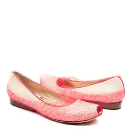 Tracy Neules - Neon Knit Flat Nude&Neon Knit