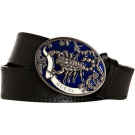 GUCCI -  'Scorpion' buckle belt