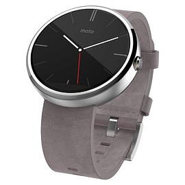 Motorola - Moto 360 - Stone Leather Color