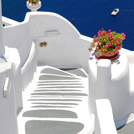 Greece,Santorini - seaside