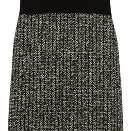 Bouchra Jarrar - FW2014 Bouclé-tweed and crepe top