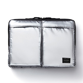 "HEAD PORTER - ""SILVER JET"" LAPTOP CASE 11inch"