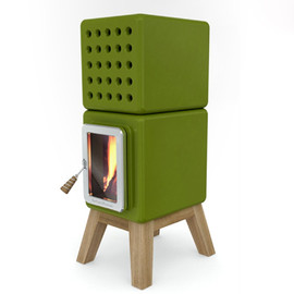 innovative stove design Stack - stack stove collection adriano design 4 Stylish Wood Stoves   innovative stove design Stack