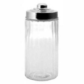 DULTON - Glass Canister Stainless Lid (Size L)
