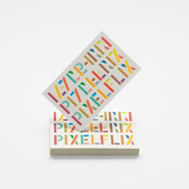 A Friend of Mine - Pixelflix Brand Identity