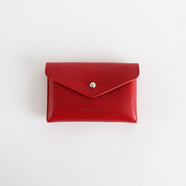 Hender Scheme|UNISEX - ONE PIECE CARD CASE #RED [in-rc-opc]