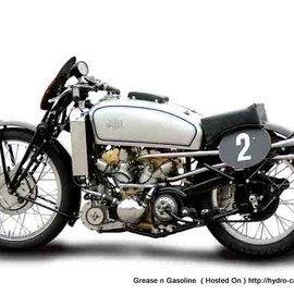 AJS - V4 500cc Supercharged 1939