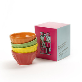 THE CONRAN SHOP - MULTI‐COLOURED BOWL SET OF 4