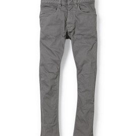 nonnative - DWELLER TIGHT FIT JEANS - C/P KATSURAGI STRETCH OVERDYED