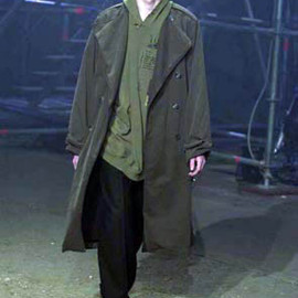 "RAF SIMONS - 2001AW ""RIOT RIOT RIOT"" Trench Coat"