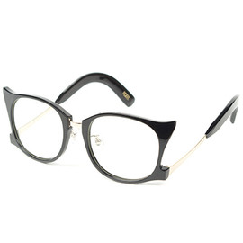 PEARL - 【PEARL】EYEWEAR/EYE GLASSES /BLACK