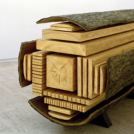 Vincent Kohler - Billon Wood Sculpture