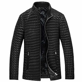 CWMALLS - Prime Day 2018   CWMALLS® Dublin Black Quilted Leather Bomber Jacket CW850009 [Custom Made]