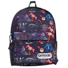 Outdoor Products - 劇場版『魔法少女まどか☆マギカ』 OUTDOOR DAY PACK 魔女柄 MM_od04DB