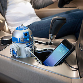 ThinkGeek creation - R2-D2 USB Car Charger