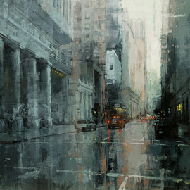 Jeremy Mann - CITYSCAPES / Down The Montgomery