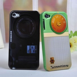 Retro Camera Style design Hard Back Cover Iphone4/4s/5 case