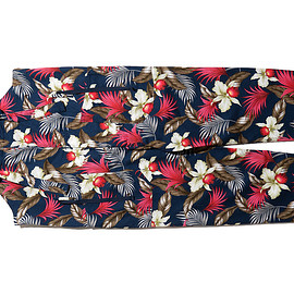 ENGINEERED GARMENTS - Overalls-Hawaiian Floral Java Cloth-Navy