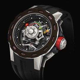 Richard Mille - TOURBILLON COMPETITION G-SENSOR SEBASTIEN LOEB