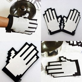 ThinkGeek - 8Bit Oven Mitts
