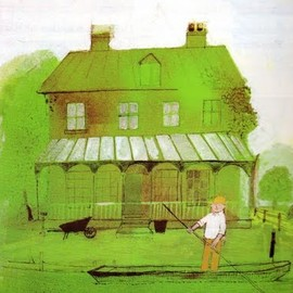 John Burningham - painting