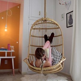 Serena & Lily - Hanging Rattan Chair