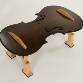 Thomas Orner Creations - Fiddle Coffee Table No 1