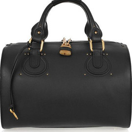 Chloe - Chloé Aurore Duffel Leather Bag
