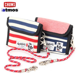 CHUMS × atmos - CHUMS×atmos SWEAT BORDER WALLET
