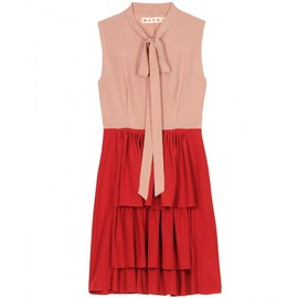 MARNI - TWO TONE SILK DRESS