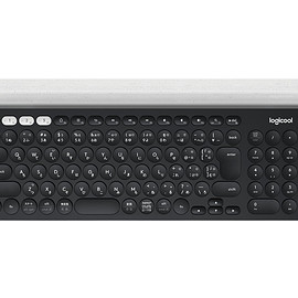 Logitech - Bluetooth Multi-Device Keyboard: K780