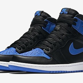 NIKE - AIR JORDAN 1 RETRO HIGH OG ROYAL 2017